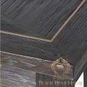 konsola w stylu amerykańskim black bear house
