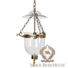 lampa dome modern classic black bear house