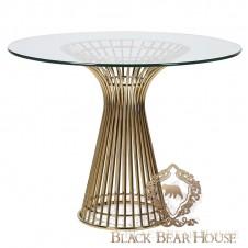 Stół w stylu nowojorskim black bear house