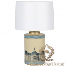 granatowa lampa stolikowa black bear house