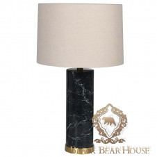 lampa marmur black bear house