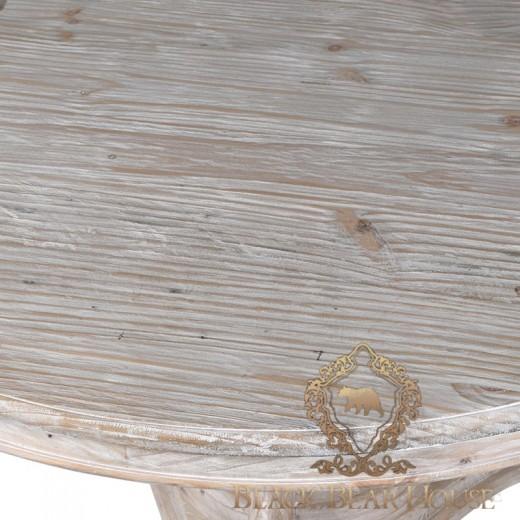 drewaniany klasyczny stół black bear house