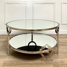 srebrny stolik kawowy w stylu  modern classic black bear house.018
