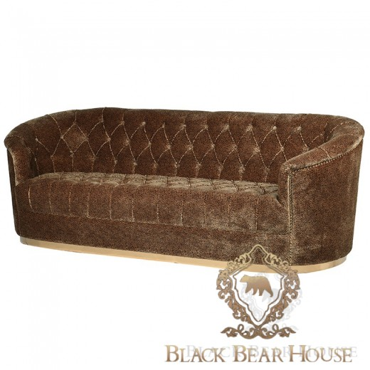 sofa w leopardzie cętki black bear house