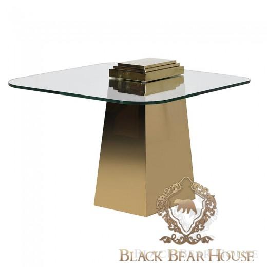 stolik złoty modern classic black bear house