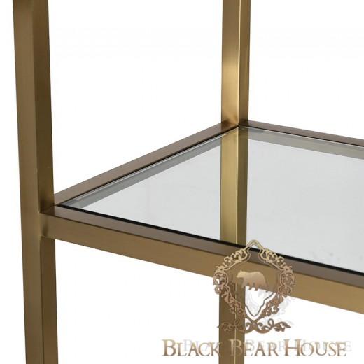 regał złoty black bear house