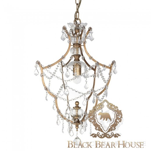 żyrandol glamour black bear house.001