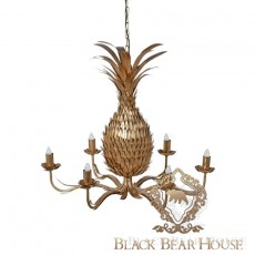 lampa glamour ananas black bear house.002