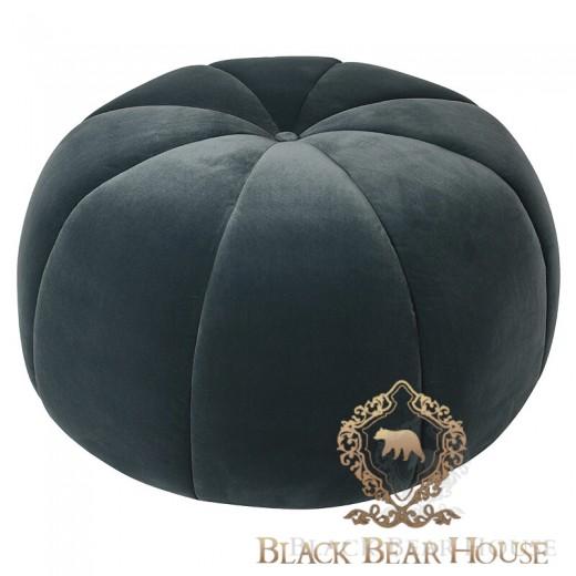 pufa welurowa turkus black bear house
