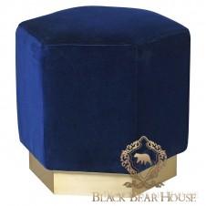 niebieska pufa w stylu nowojorskim black bear house.017