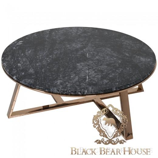 stolik marmurowy black bear house
