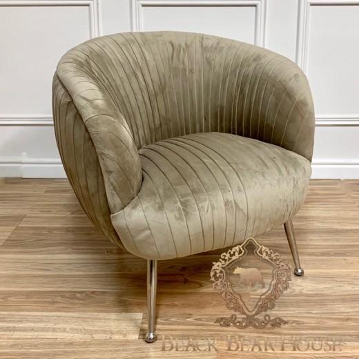 fotel i lustrzany stolik modern classic black bear house.004