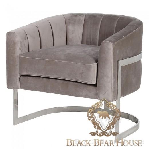 fotel modern classic black bear house.001