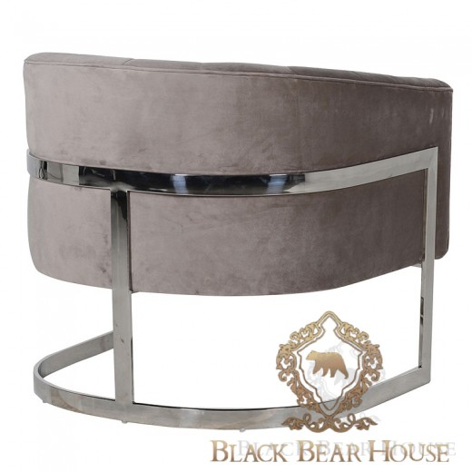 fotel modern classic black bear house.002