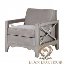 fotel modern classic black bear house.008