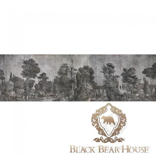 małowidło ścienne black bear house.023