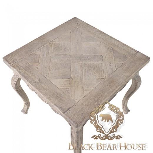 stolik drewniany patynowany black bear house.002