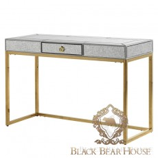 złote lustrzane biurko black bear house.009