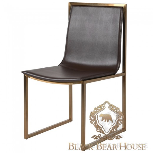 krzesło złoto braz black bear house.001