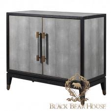 komoda skórzana modern classic black bear house.019