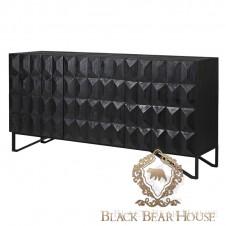 komoda czarna nowojorska black bear house.001