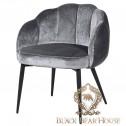 krzesło w stylu nowojorskim welurowe black bearhouse.001