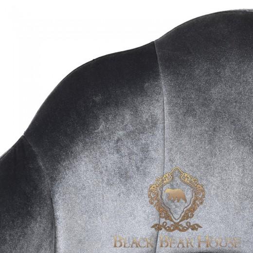 krzesło w stylu nowojorskim welurowe black bearhouse.002
