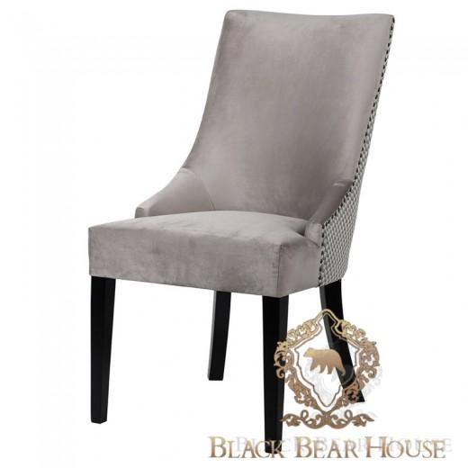 krzesło w stylu nowojorskim welurowe black bearhouse.003
