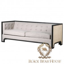 sofa modern classic new york black bear house.024