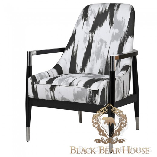fotel modern classic new york black bear house.026