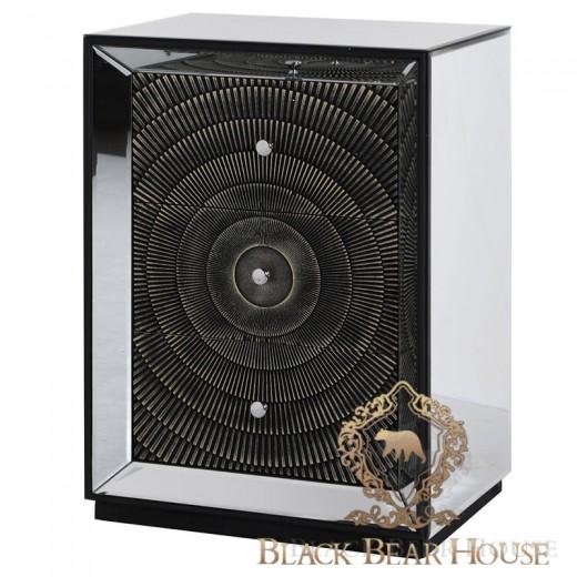 szafka lustrzana modern classic new york black bear house.042