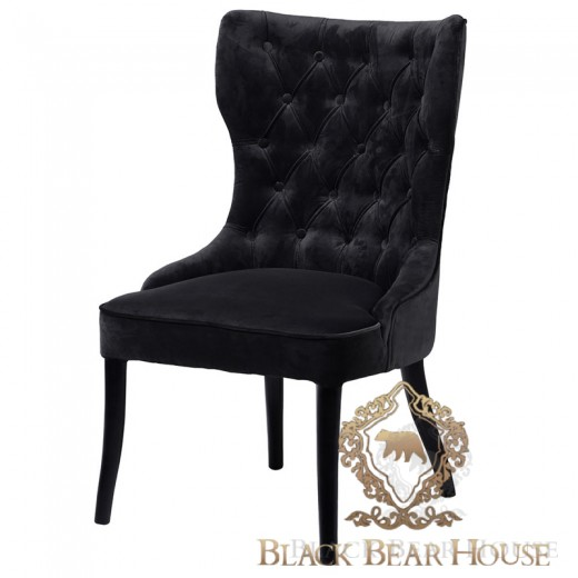 krzesło modern classic nowojorskie black bear house.013