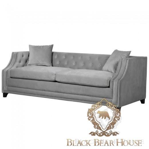 sofa szara pikowana w stylu nowojorskim black bear house.001