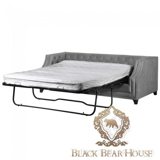 sofa szara pikowana w stylu nowojorskim black bear house.002