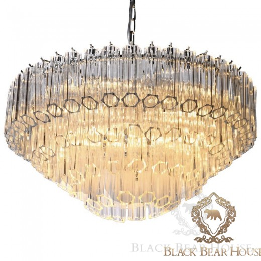 lampa żyrandol francuski modern classic black bear house.014