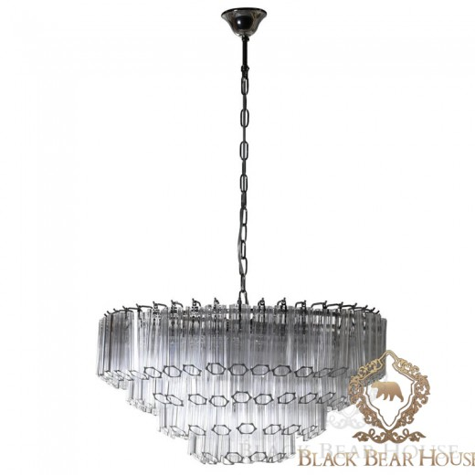 lampa żyrandol francuski modern classic black bear house.015