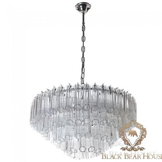 lampa żyrandol francuski modern classic black bear house.016
