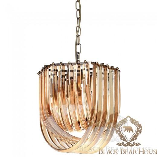 lampa żyrandol francuski modern classic black bear house.027