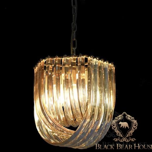 lampa żyrandol francuski modern classic black bear house.029