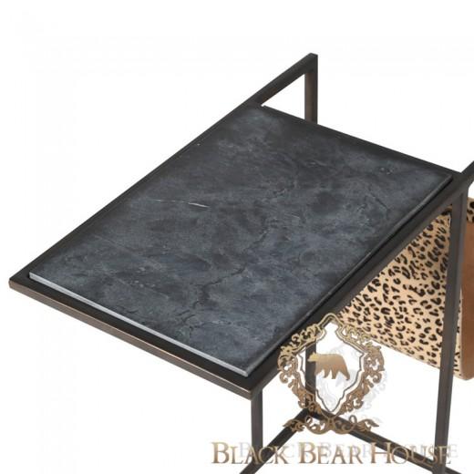 stolik marmur lamparci wzór black bear house.014