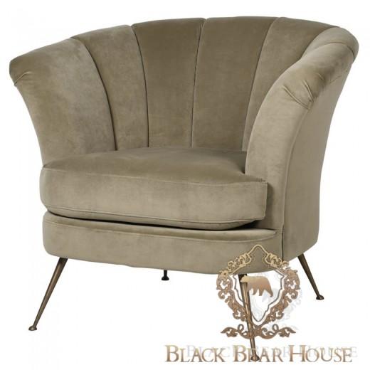 fotel beżowy złoty amerykański black bear house.001