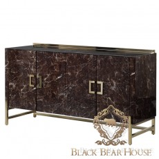 komoda marmur ze złotem black bear house.001