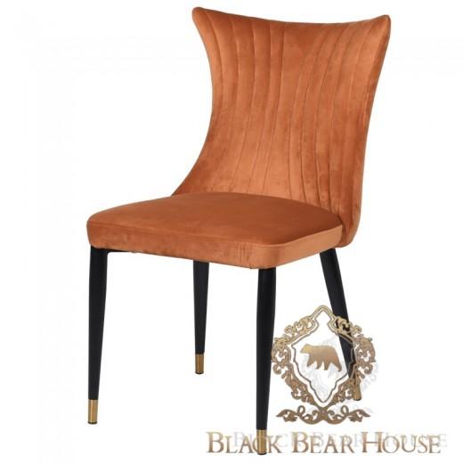 krzesło różowe złoto black bear house.001