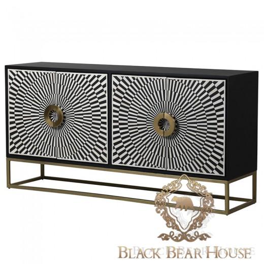 komoda amerykańska modern classic iglamour black bear house.003