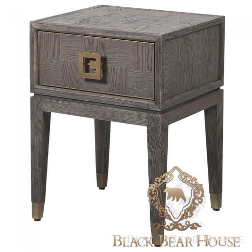szafka drewniana w stylu modern classic black bear house.001