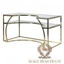 złote biurko modern classic black bear house.002