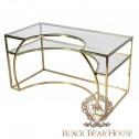złote biurko modern classic black bear house
